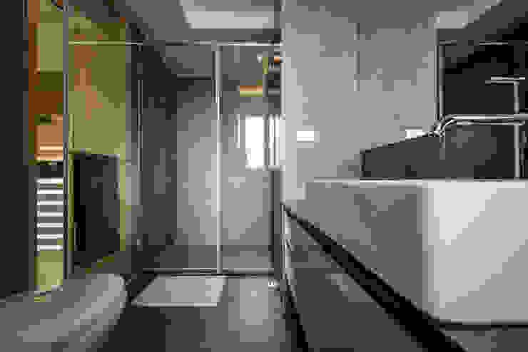 衛浴 根據 存果空間設計有限公司 隨意取材風