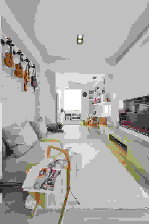 客廳 根據 存果空間設計有限公司 北歐風