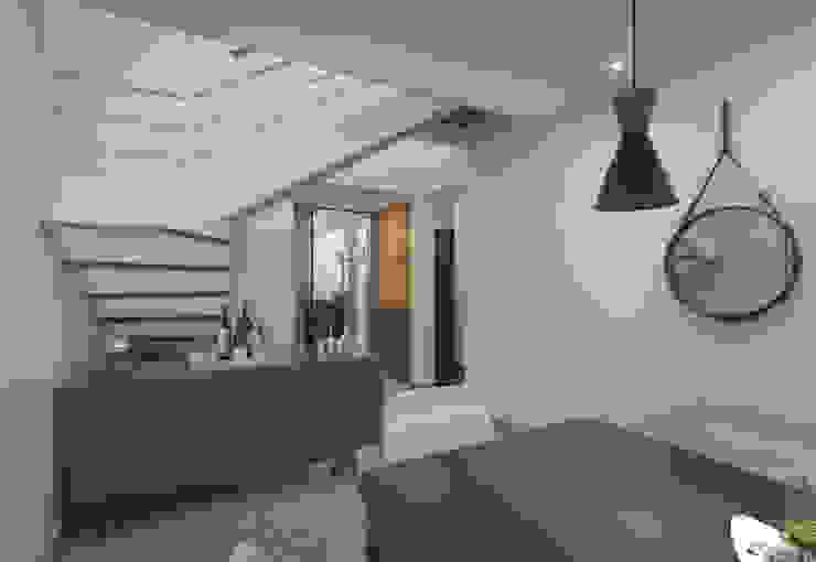 Filipe Castro Arquitetura | Design Modern living room MDF White