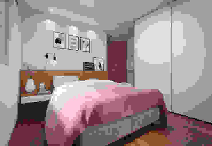 Cuartos de estilo moderno de Filipe Castro Arquitetura | Design Moderno Tablero DM