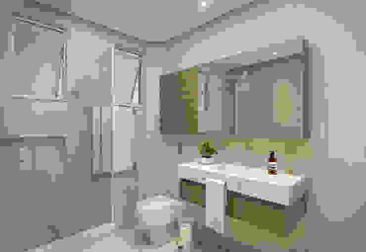 Baños de estilo minimalista de Filipe Castro Arquitetura | Design Minimalista Tablero DM