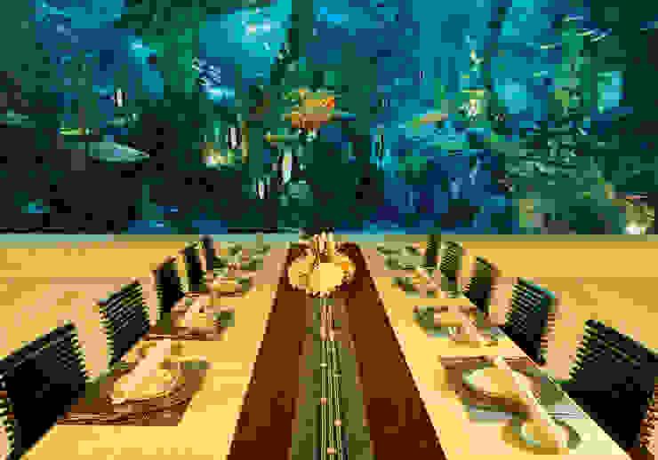 Restaurants Minimalist bars & clubs by Zeba India Pvt. Ltd. Minimalist