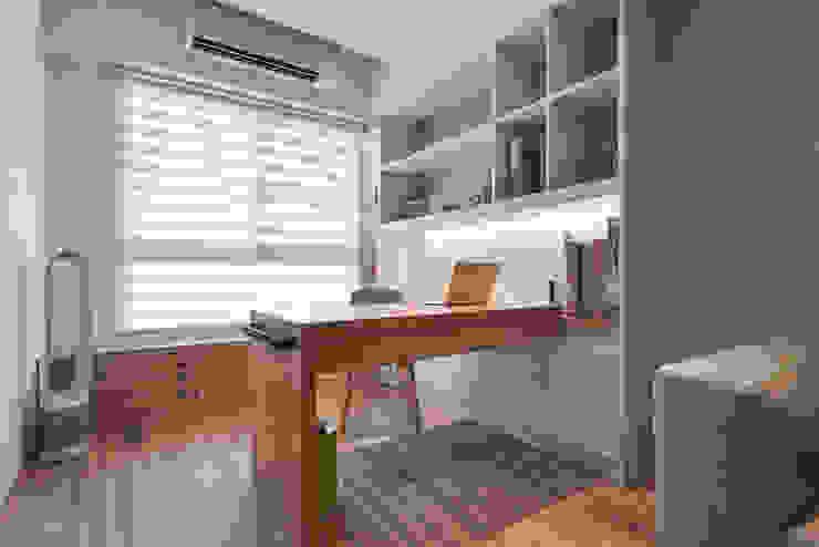 書房兼餐廳空間 Modern Study Room and Home Office by 存果空間設計有限公司 Modern