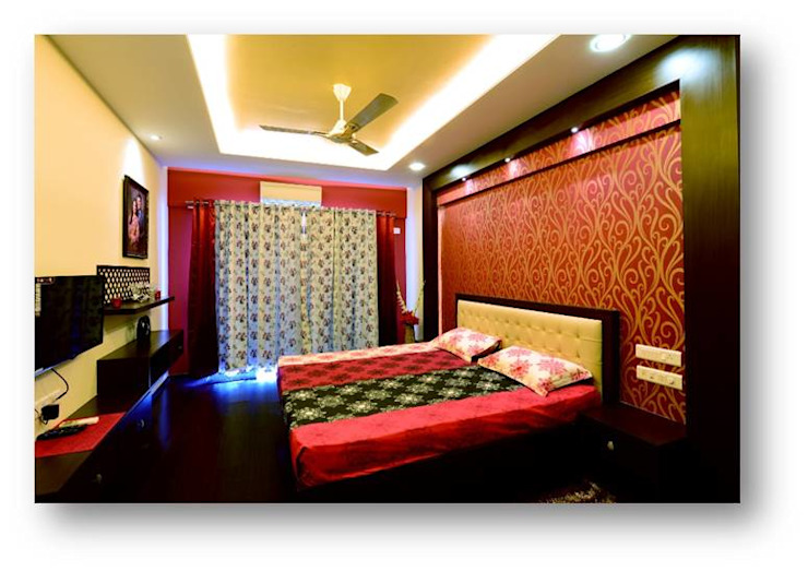 Some Previous Works BVM Intsol Pvt. Ltd. Country style bedroom