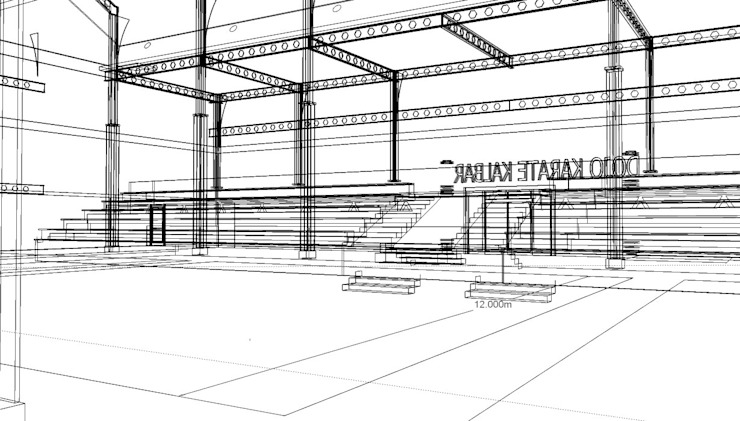 Sport Hall Oleh arsitek adin