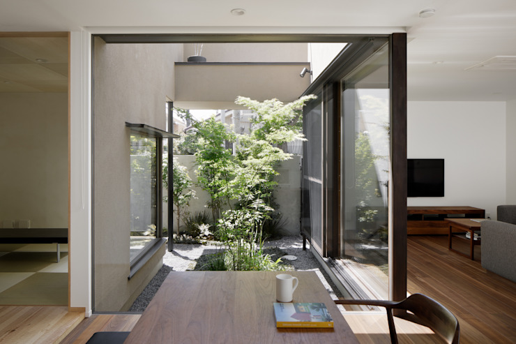 Modern Garden by atelier137 ARCHITECTURAL DESIGN OFFICE Modern