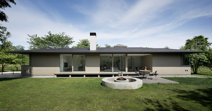 Modern houses by atelier137 ARCHITECTURAL DESIGN OFFICE Modern Wood Wood effect