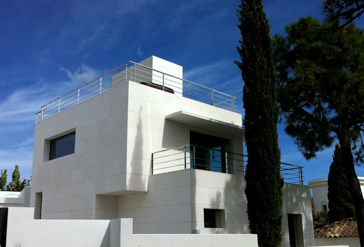 Mediterranean style office buildings by Rosal Stones Mediterranean Stone