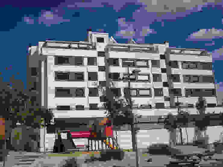 Mediterranean style office buildings by Rosal Stones Mediterranean Limestone