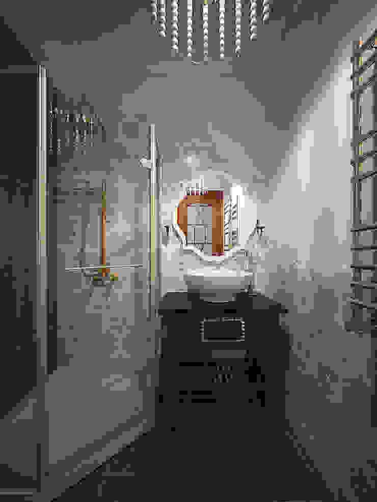 студия Виталии Романовской Classic style bathroom