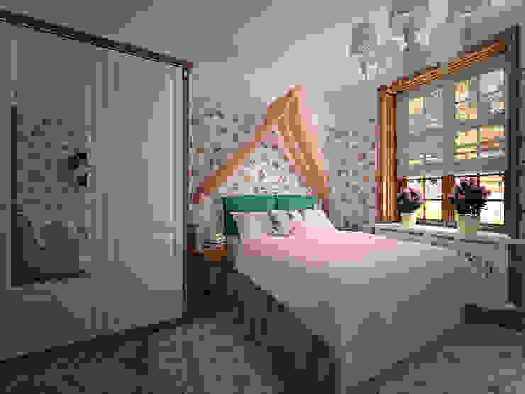 студия Виталии Романовской Classic style bedroom