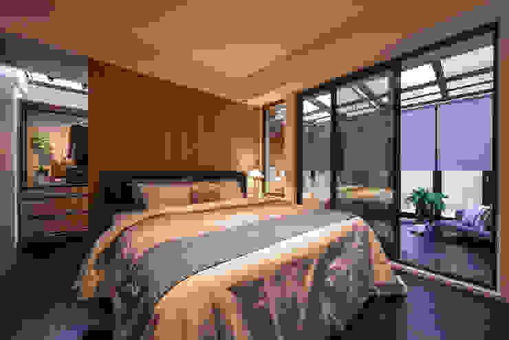 臥房 Modern style bedroom by 存果空間設計有限公司 Modern