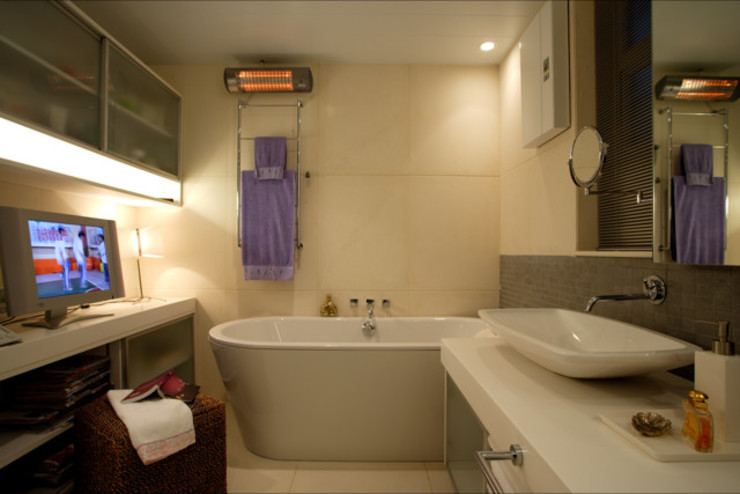 evergreen villa Asian style bathroom by wayne corp Asian