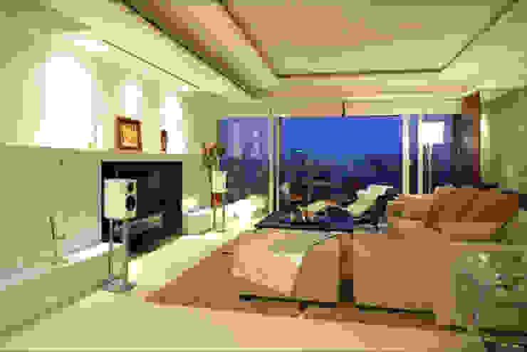 evergreen villa Asian style living room by wayne corp Asian