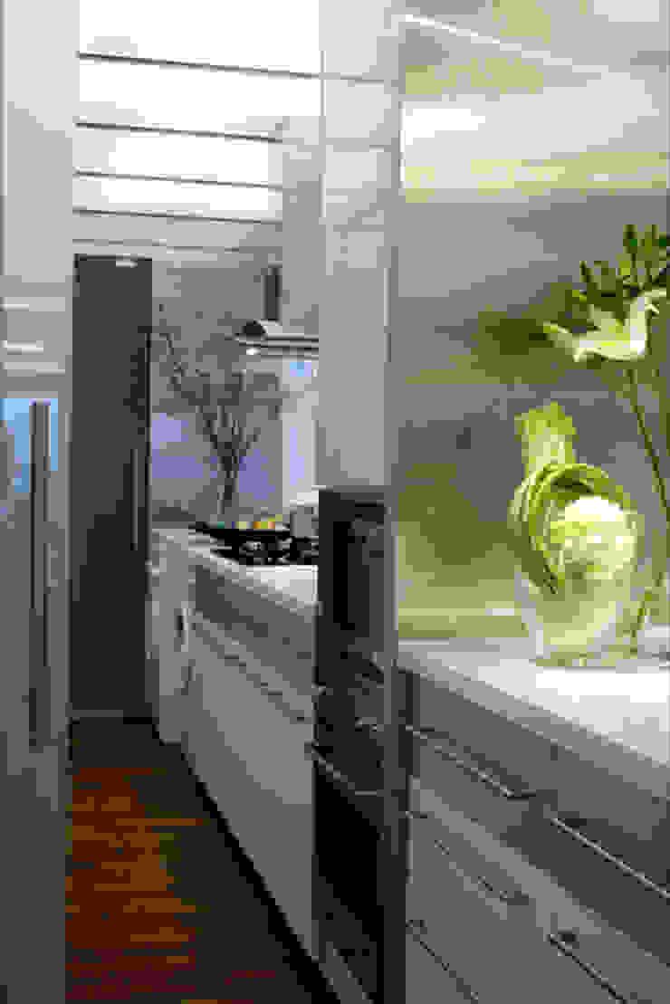 evergreen villa Asian style kitchen by wayne corp Asian