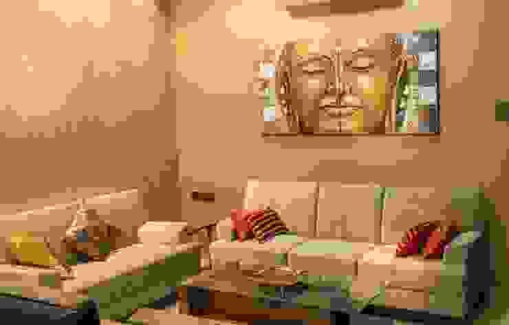 Rishi Villa - Pune Aesthetica Modern living room