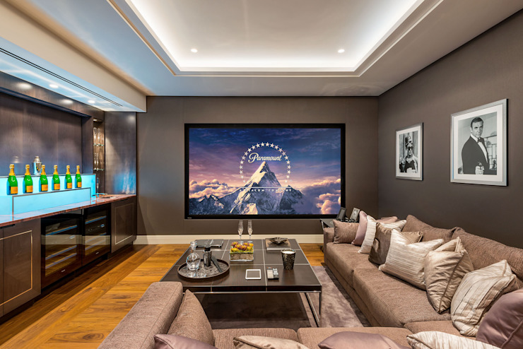 Media room by RBD Architecture & Interiors, Classic