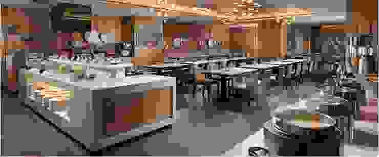 實品案例-高雄翰品酒店 禾木家具 餐廳椅子與長凳