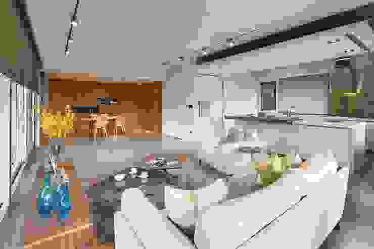 實品案例-住家 現代房屋設計點子、靈感 & 圖片 根據 禾木家具 現代風