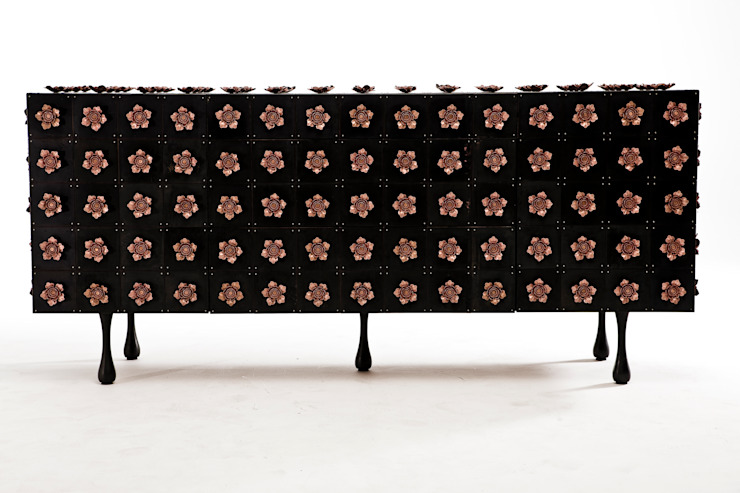 Rosette Server: modern  by Egg Designs CC, Modern Copper/Bronze/Brass