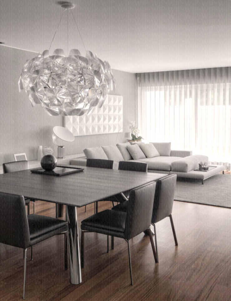 Dining Room Modern Dining Room by INAIN Interior Design Modern