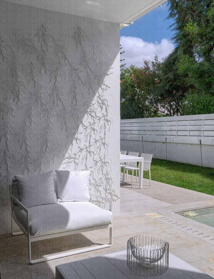 Outside area Modern Garden by INAIN Interior Design Modern