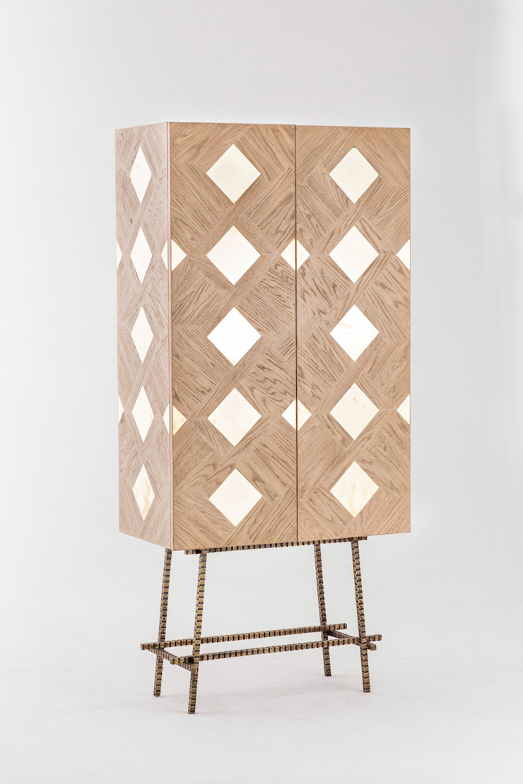 Parquet cabinet: modern  by Egg Designs CC, Modern Wood Wood effect