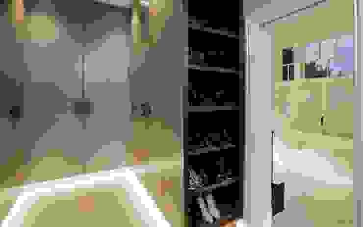غرفة الملابس تنفيذ Studio K Design,