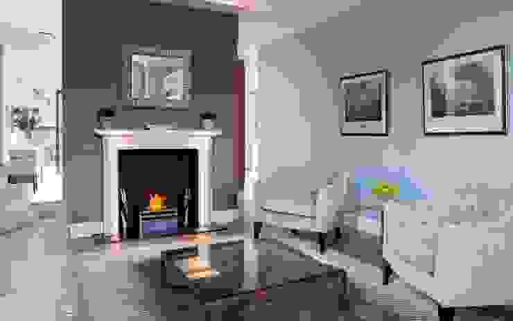 Barnes: Formal Sitting Room:  Living room by Studio K Design,