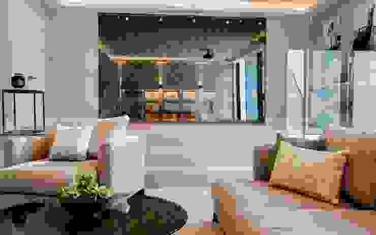 Barnes: Wine Cellar & Cinema Room:  Wine cellar by Studio K Design,
