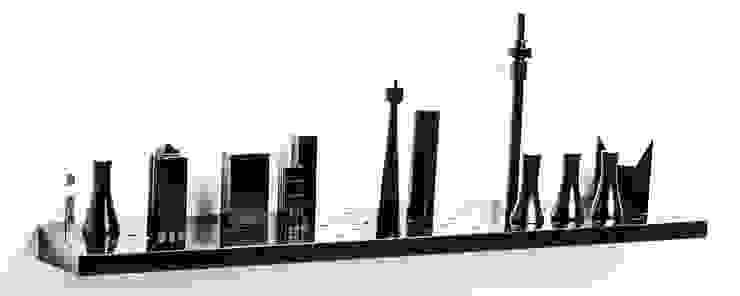 Jozi shelf: modern  by Egg Designs CC, Modern MDF