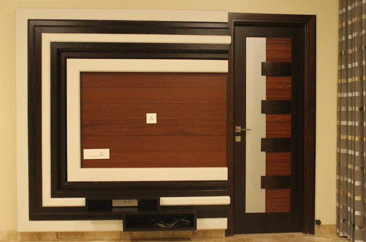 TV cabinet for the son's bedroom: modern  by SA Architects,Modern Wood Wood effect