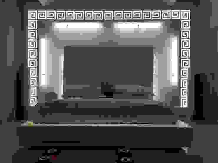 Backlit effect: modern  by SA Architects,Modern Wood Wood effect