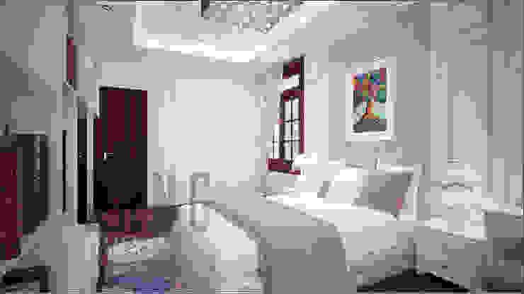 Phòng con gái Phòng ngủ phong cách châu Á bởi DCOR Châu Á