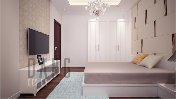 Phòng ngủ khách Phòng ngủ phong cách châu Á bởi DCOR Châu Á