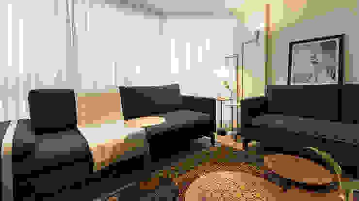 Estar Ateliê 7 arquitetura e design integrados Sala de estarSofás e divãs