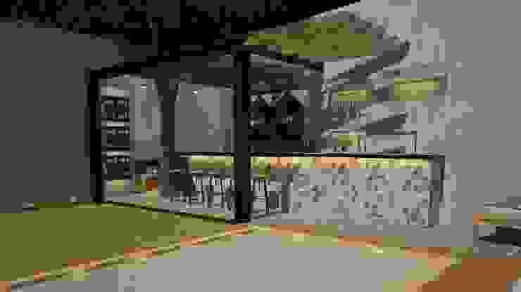Casa Julieta Casas de estilo ecléctico de CONTRASTE INTERIOR Ecléctico