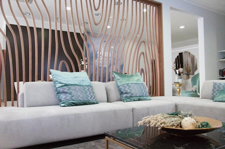 Modern living room by Glim - Design de Interiores Modern