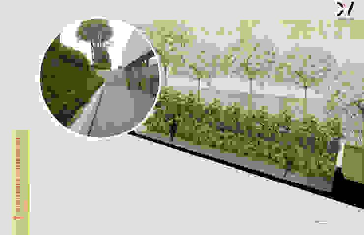 Taman Minimalis Oleh concepto verde SAS Minimalis