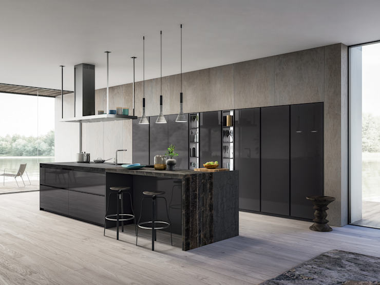 Modern kitchen by ATELIER CASA S.A.S Modern