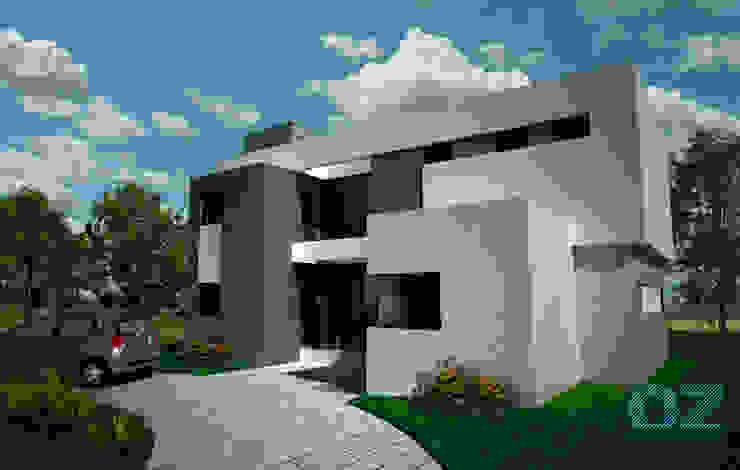 Minimalist house by OZestudioArq Minimalist