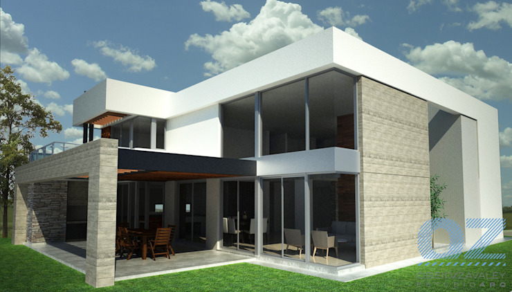 Дома в стиле минимализм от OZestudioArq Минимализм