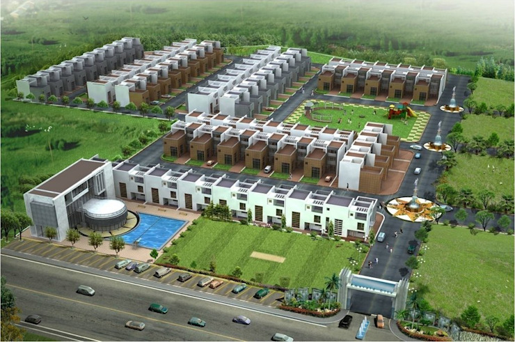 CONDOS TOWNSHIPS: modern  by CTDC,Modern