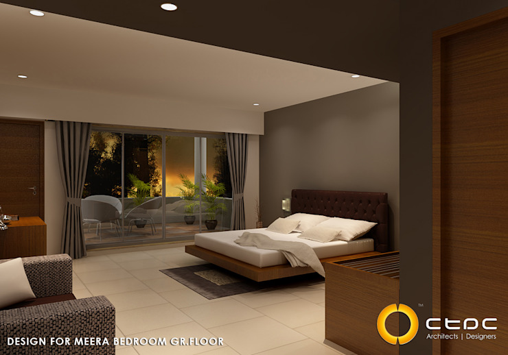HOSPITALITY & COMMERCIAL Modern hotels by CTDC Modern