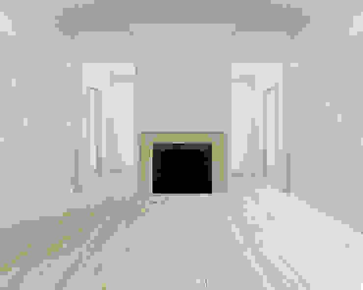 Ristrutturare con il bianco Sala da pranzo eclettica di Arch. Francesco Antoniazza - Il bello della casa ..................... di una volta Eclettico
