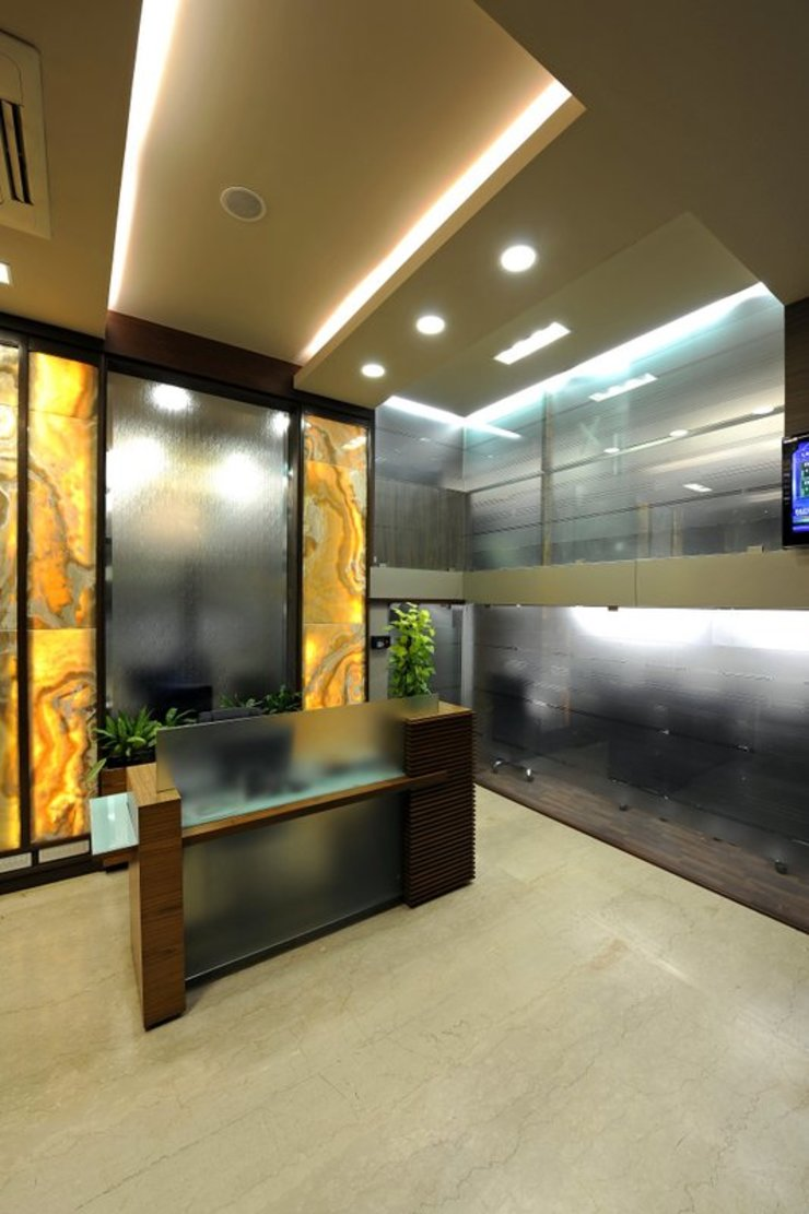 OFFICE NSSB Modern office buildings by CTDC Modern