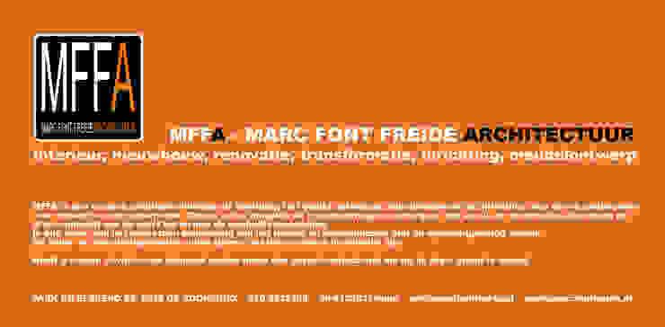 Flyer Moderne huizen van Marc Font Freide Architectuur Modern