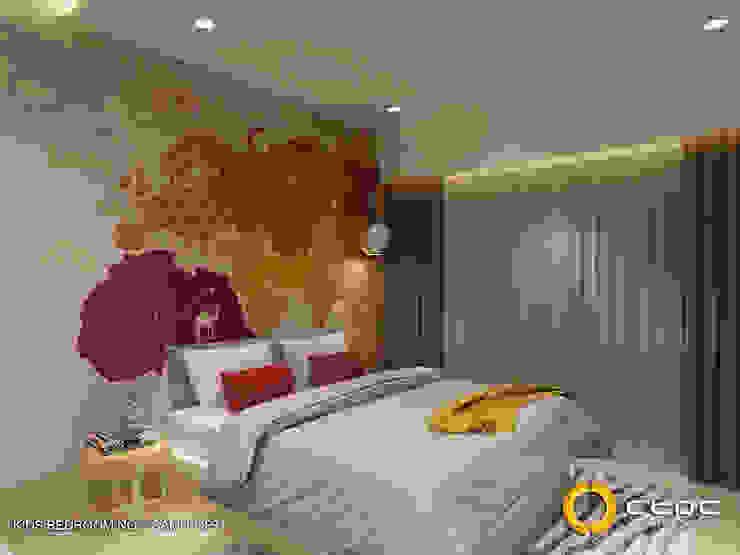 RESIDENCE KRISNAMOHAN 3D Modern hotels by ctdc Modern