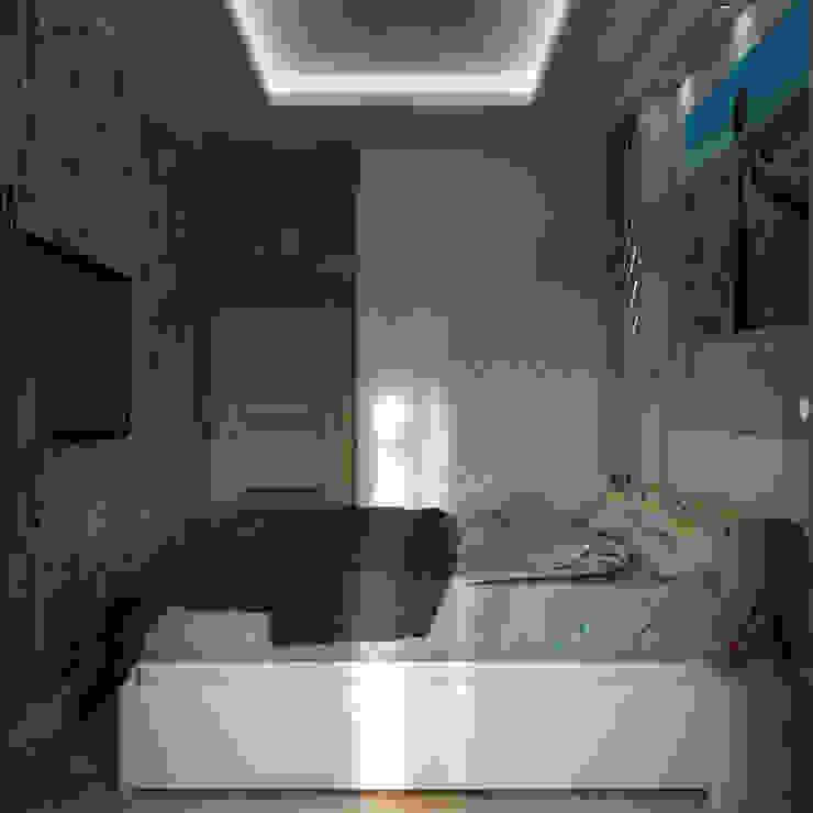 Minimalist bedroom by AG design Minimalist