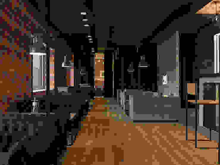 Industrial style walls & floors by AG design Industrial Bricks